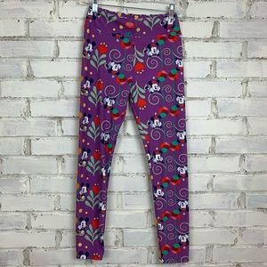 Lularoe Mickey Minnie Leggings | Size OS